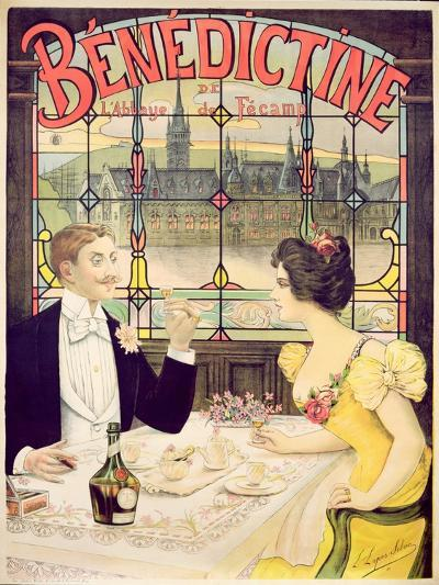 Advertisement for Benedictine, printed by Imp. Andre Silva, Paris, 1898-Lucien Lopes Silva-Giclee Print