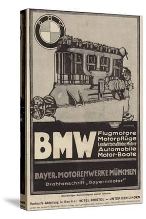 Advertisement for Bmw Engines