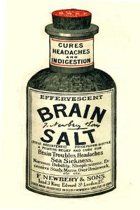 Advertisement for 'Brain Salt', 1890s
