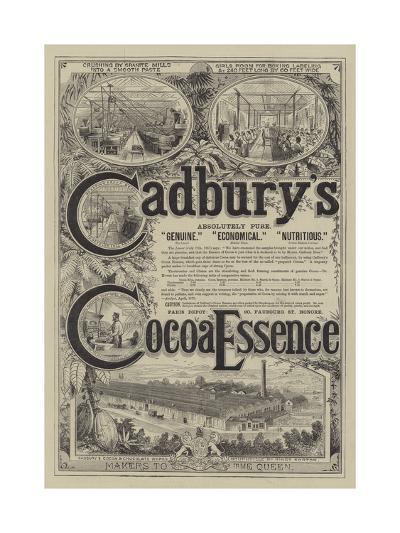 Advertisement for Cadbury's Co...