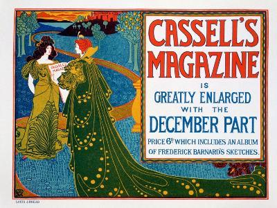 Advertisement for 'Cassell's Magazine', 1896-Louis John Rhead-Giclee Print