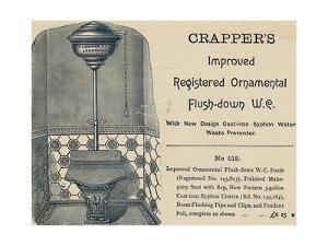 Advertisement for Crapper's Toilet