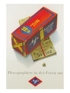 Advertisement for German Color Film