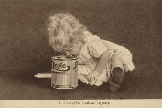 Advertisement for Glaxo Baby Food--Photographic Print