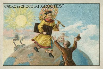 Advertisement for Grootes Cocoa and Chocolate--Giclee Print