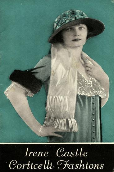 Advertisement for Irene Castle Corticelli Fashions, 1925--Giclee Print