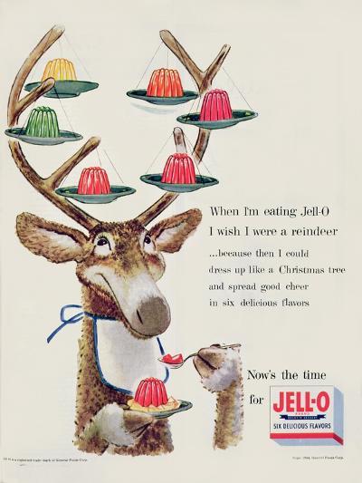 Advertisement for 'Jello', 1954--Giclee Print