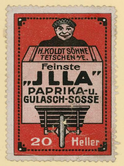 Advertisement for Jlla Paprika and Goulash Sauce--Giclee Print
