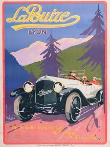 Advertisement for La Buize Automobiles, C.1920