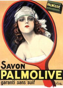 Advertisement for Palmolive Soap by Emilio Vila, 1926