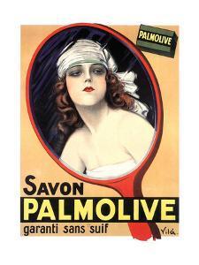 Advertisement for Palmolive Soap by Emilio Vila, 1926