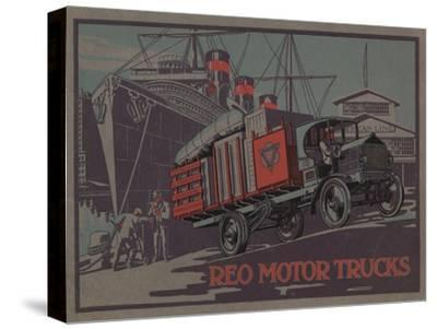 Advertisement for Reo Motor Trucks, C.1910