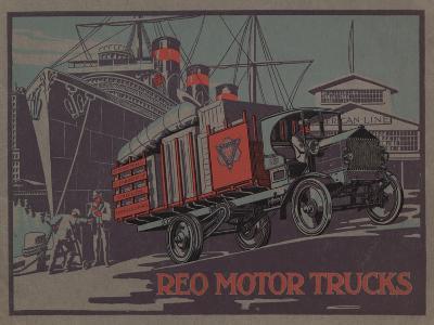 Advertisement for Reo Motor Trucks, C.1910--Giclee Print