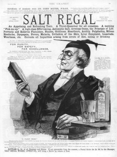 Advertisement for Salt Regal Tonic, 1890--Giclee Print