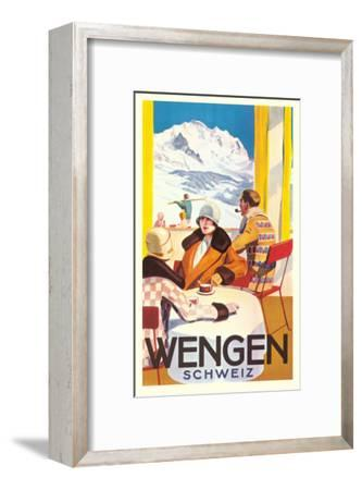 Advertisement for Swiss Ski Resort