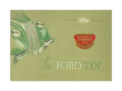 Advertisement for the Ford 'Ten', C.1935--Giclee Print
