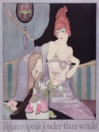 Advertisement for the Model Brassiere Company, from Vogue Magazine, 1919--Giclee Print