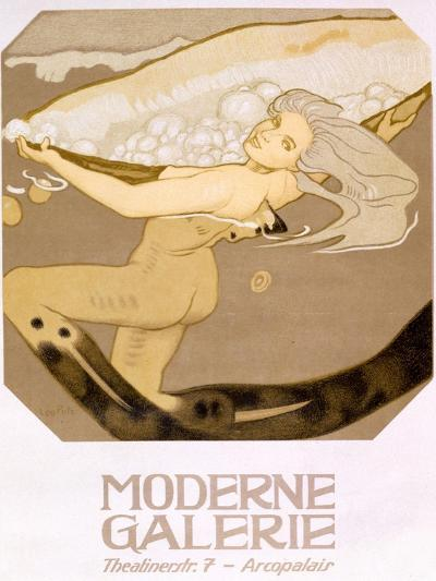 Advertisement for the Moderne Galerie, Munich, 1927--Giclee Print