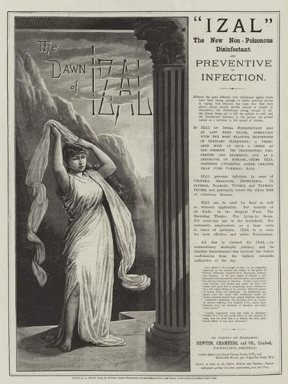 Advertisement, Izal--Giclee Print