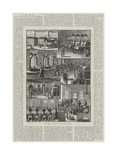 Advertisement, J S Fry and Sons' Cocoa and Chocolate Works, Bristol--Giclee Print