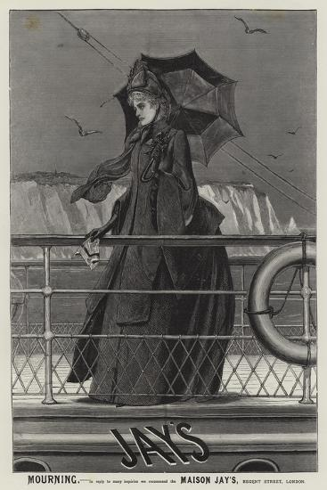 Advertisement, Jay's Mourning--Giclee Print