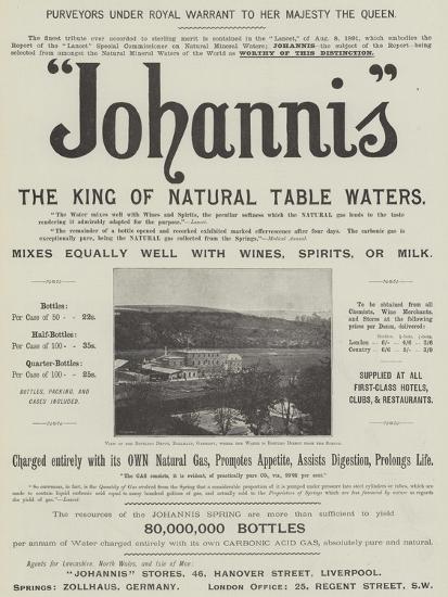 Advertisement, Johannis--Giclee Print