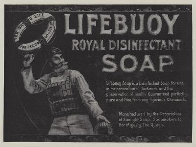 Advertisement, Lifebuoy Royal Disinfectant Soap--Giclee Print