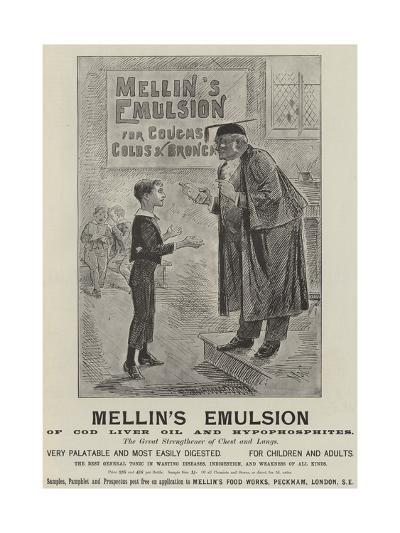 Advertisement, Mellin's Emulsion--Giclee Print