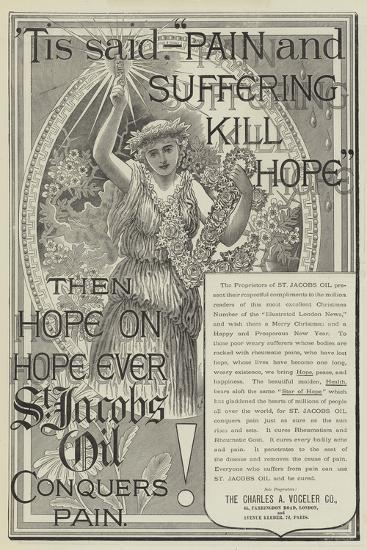Advertisement, St Jacobs Oil--Giclee Print