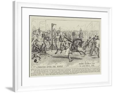 Advertisement, St Jacobs Oil--Framed Giclee Print