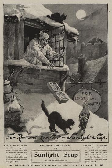 Advertisement, Sunlight Soap--Giclee Print
