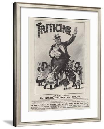 Advertisement, Triticine--Framed Giclee Print