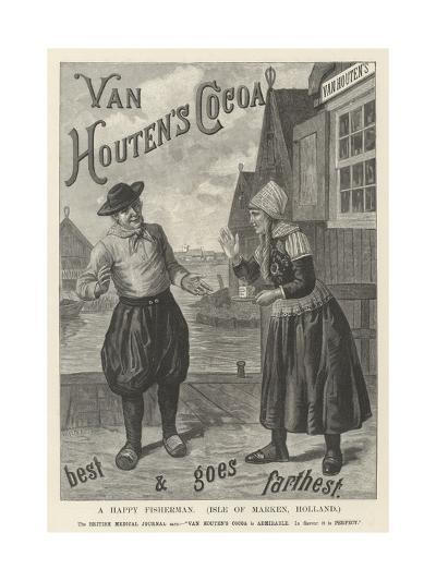 Advertisement, Van Houten's Cocoa--Giclee Print