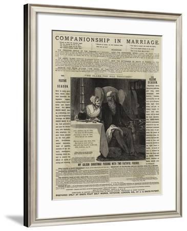 Advertisement--Framed Giclee Print