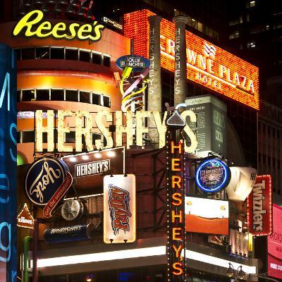 Advertising - Hershey's - Times Square - Manhattan - New York City - United States-Philippe Hugonnard-Photographic Print
