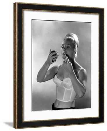 Advertising Image for Truline Bras, 1963-Michael Walters-Framed Photographic Print