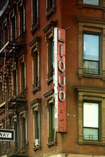 Advertising - Liquors - Harlem - Manhattan - New York - United States-Philippe Hugonnard-Photographic Print