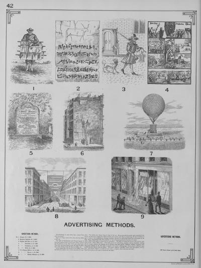Advertising Methods--Giclee Print