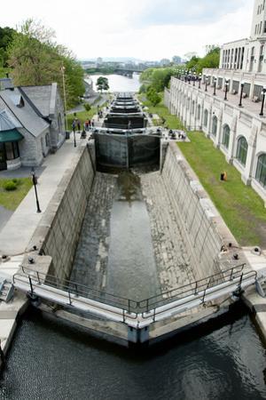 Rideau Canal Locks - Ottawa by adwo