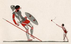 David and Goliath by AE Marty