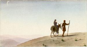 Flight to Egypt by AE Marty