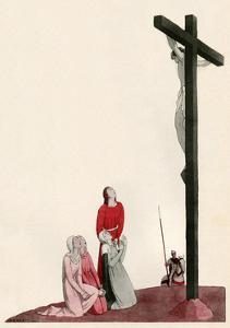 Jesus on Cross by AE Marty