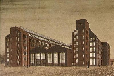 Aeg High Tension Factory, Berlin-Peter Behrens-Giclee Print