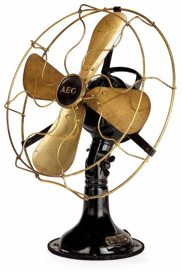 Aeg Mechanical Fan-Peter Behrens-Giclee Print