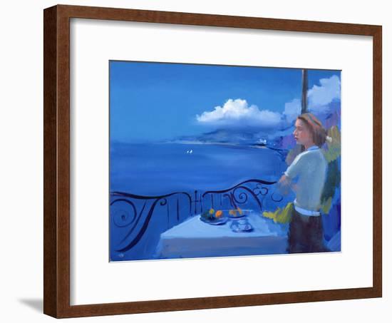 Aegean, 2005-Alan Kingsbury-Framed Giclee Print