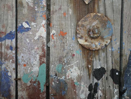 Aegean Brushstrokes V-Tony Koukos-Giclee Print