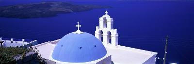 Aegean Sea Firostefani Santorini Greece--Photographic Print