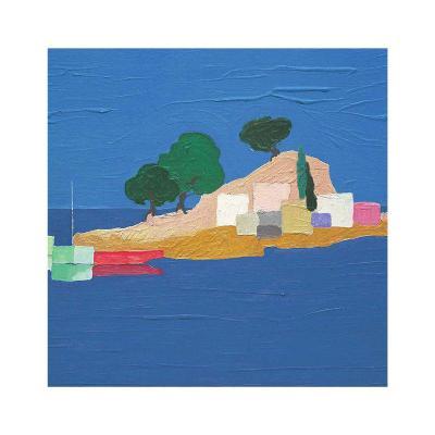 Aegean Seaside IV-Marko Viridis-Art Print