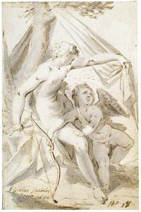 Venus and Cupid, 1600 by Aegidius Sadeler
