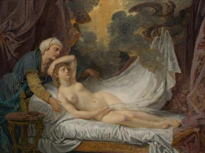 Aegina visited by Jupiter, c.1767-69-Jean Baptiste Greuze-Giclee Print